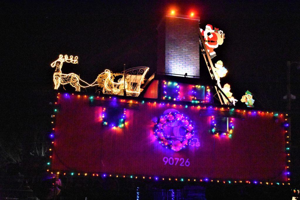 Archer Park Christmas lights