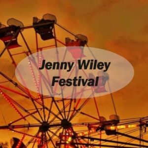 Jenny Wiley festival with ferriswheel in background